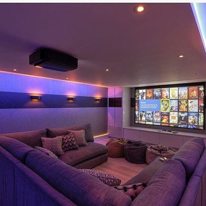 Home Theatre Design Concepts: 27 Cool Basement Home Theater, Ready To Entertain