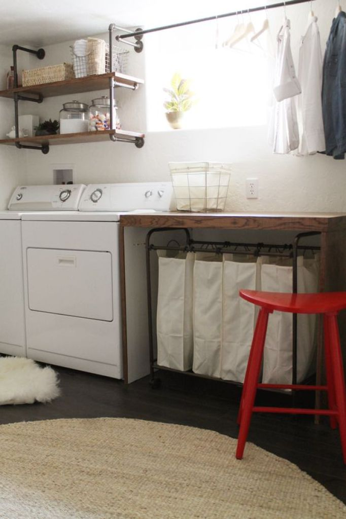#22 Amazing Basement Laundry Room Ideas That'll Make You Love on Amazing Laundry Rooms  id=60832