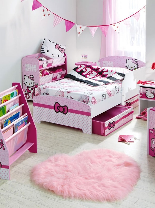 Hello Kitty Bedroom Design Ideas