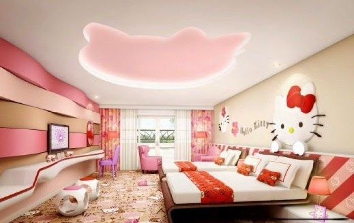 Hello Kitty Ceiling Design Bedrooms