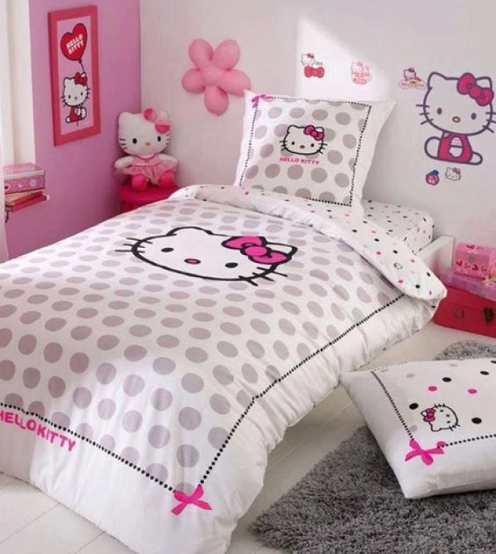 Hello Kitty Themed Bedroom Ideas