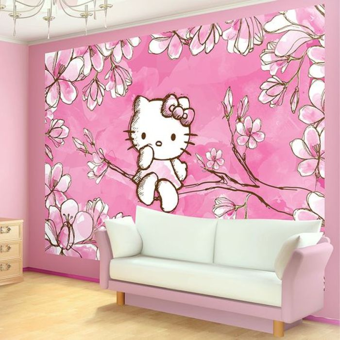 Hello Kitty Wallpaper for Bedroom