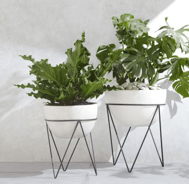 modern plant stands  20 Midcentury Modern Plant Stands For Inspirations Your Home - Reverb