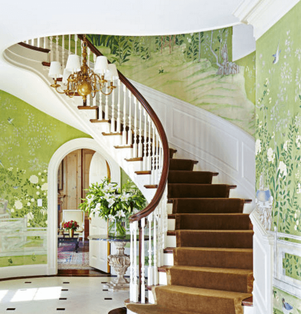 Paint Colors For Staircase Walls. Staircase Wall Painting Ideas