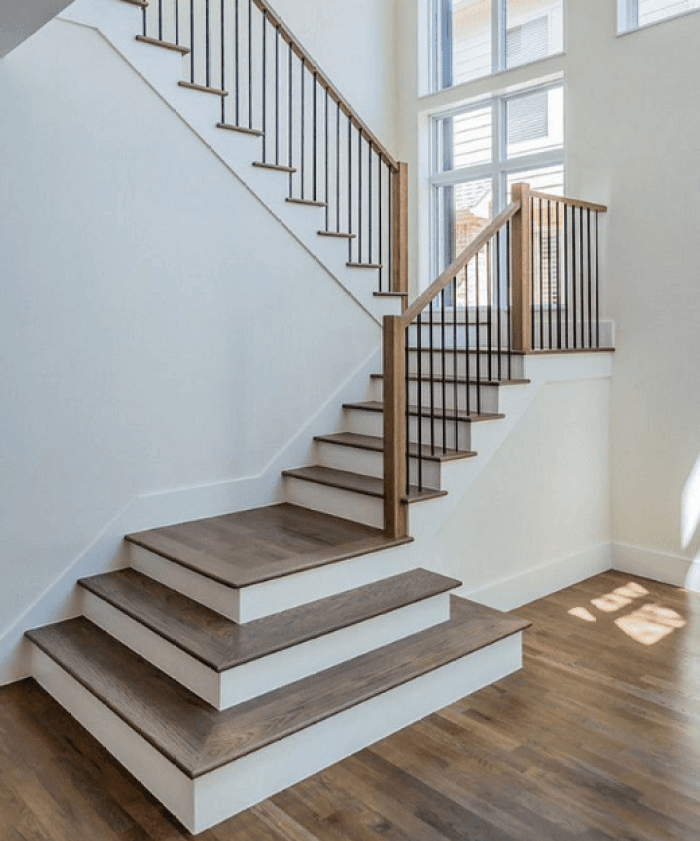 Top 70 Best Painted Stairs Ideas: 20 Attractive Painted Stairs Ideas