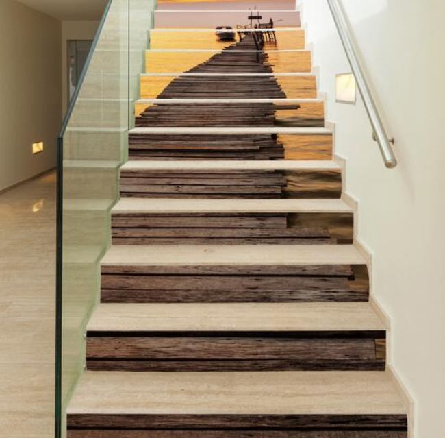 20 Attractive Painted Stairs Ideas Painting stairs Reverb