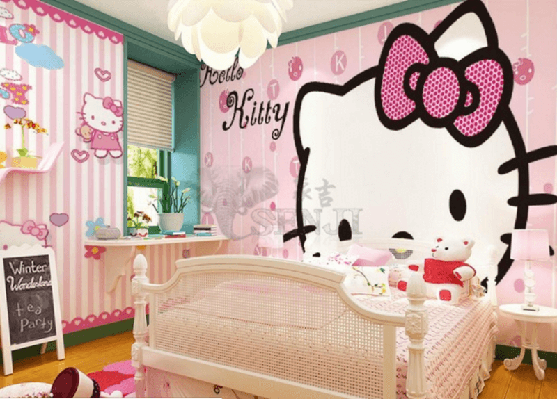 hello kitty badrooms