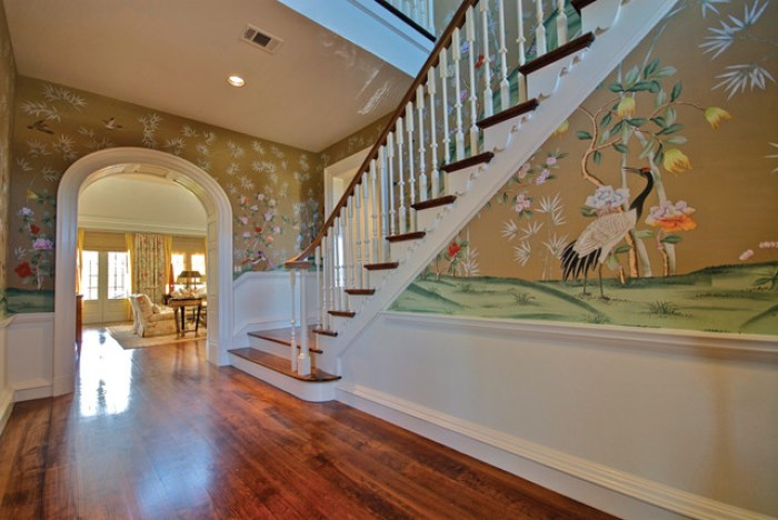 21 Attractive Painted Stairs Ideas Pictures Painting Stairs Reverb