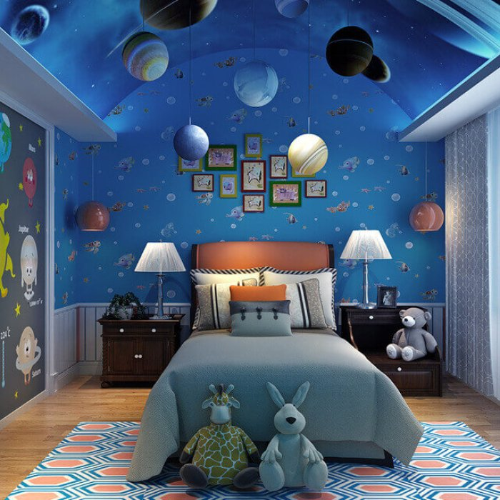 galaxy bedroom decor