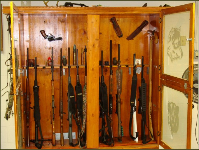 Do It Yourself Gun Display Case