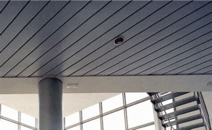 Linear Metal Ceiling