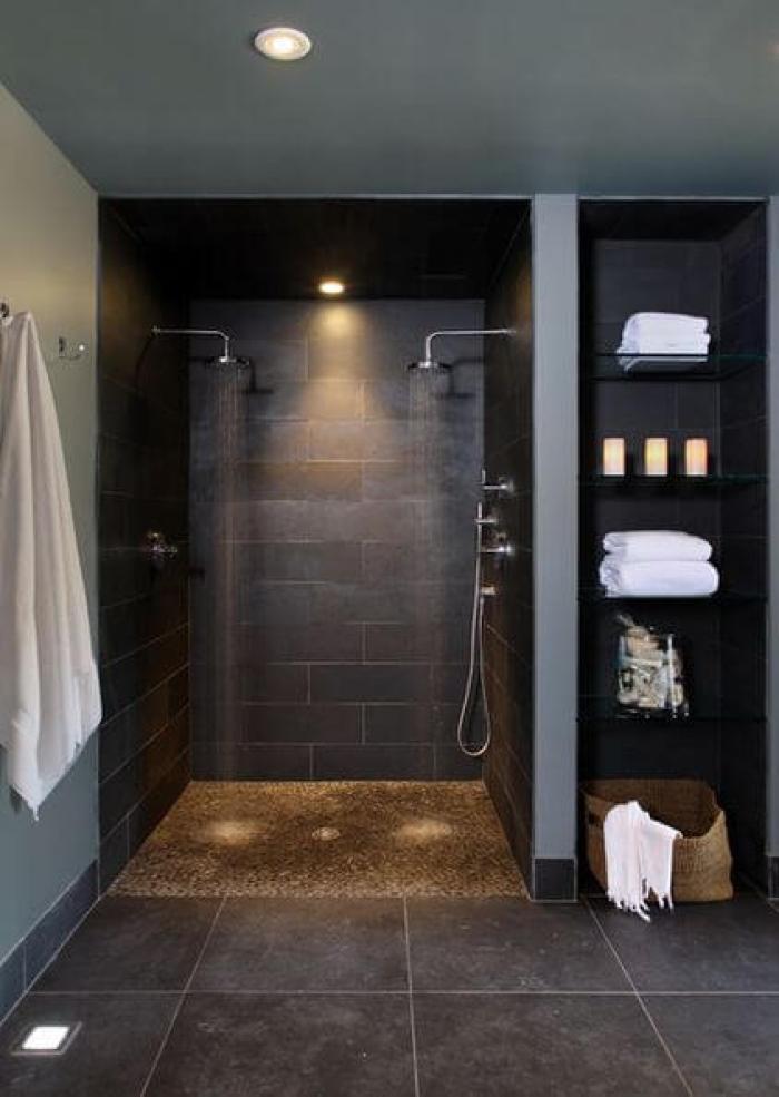 Male Living Room Shower room Ideas