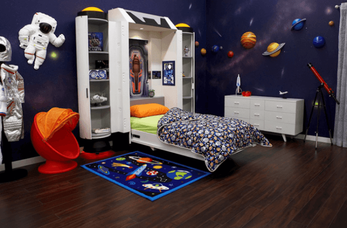 Space themed rooms