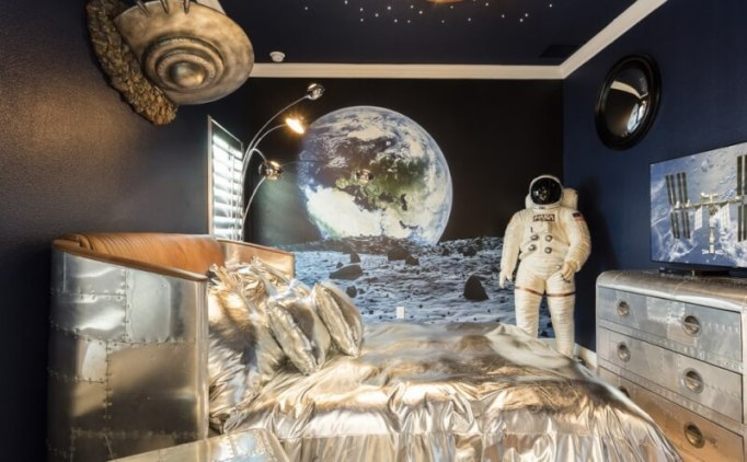 The Miniature Of International Space Station Kids Bedroom Decor