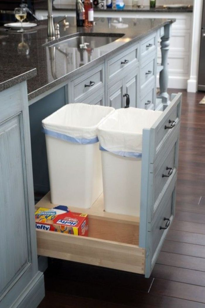 Under Sink Garbage Can Pull Out