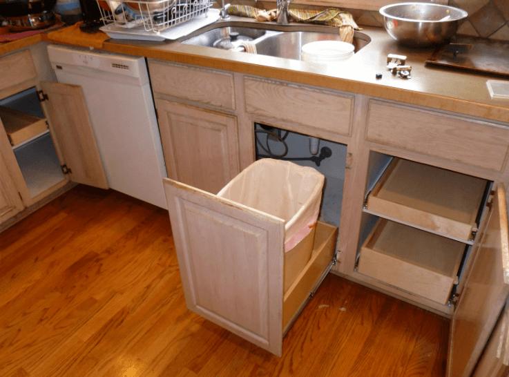 Marvelous Under Sink Trash Can