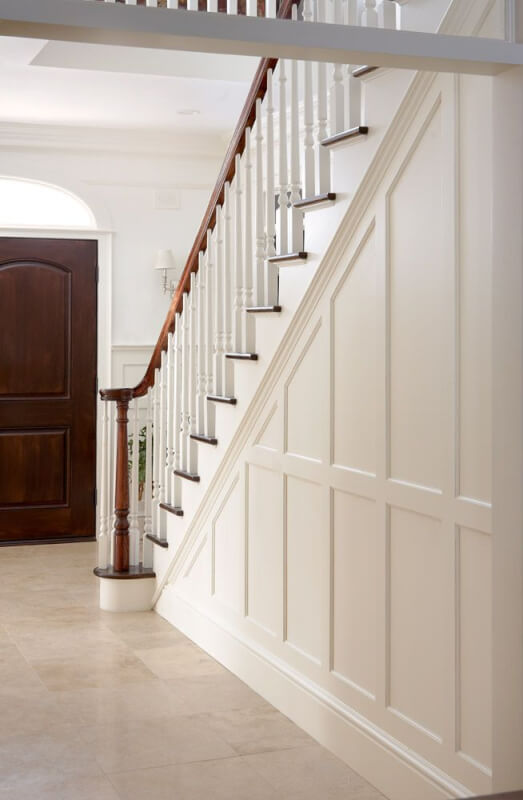 Superb Wainscoting Stairs