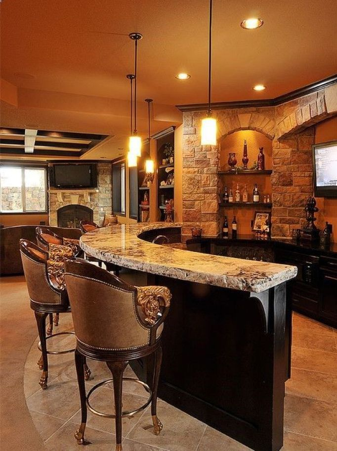 48 Perfect Basement Bar Ideas To Entertain You Reverb Adorable Basement Bars Designs