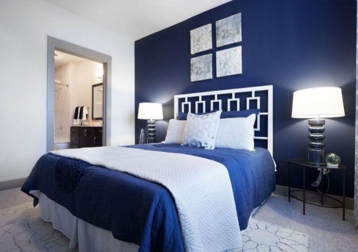 Navy Blue Bedroom Ideas, Light Blue & Dark Blue Bedrooms - Reverb