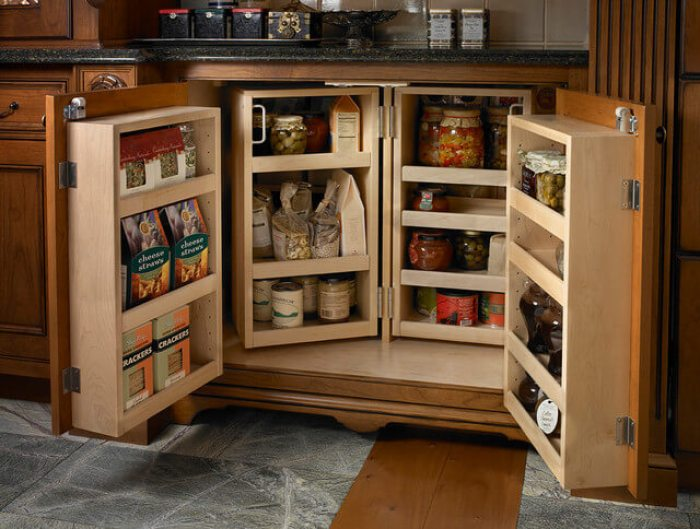 spice rack ideas pantry door