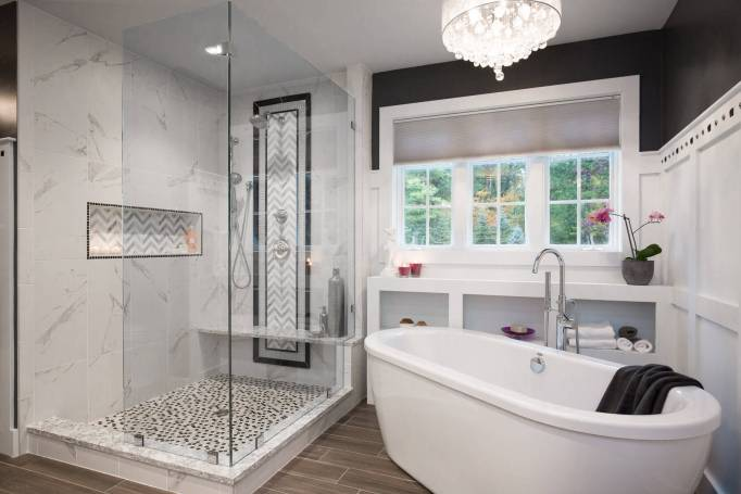 A Luxury Design for Small Bathrooms
