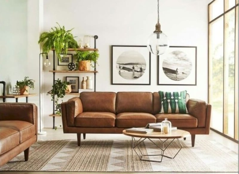 Cozy Mid Century Modern Living Room Ideas - Reverb