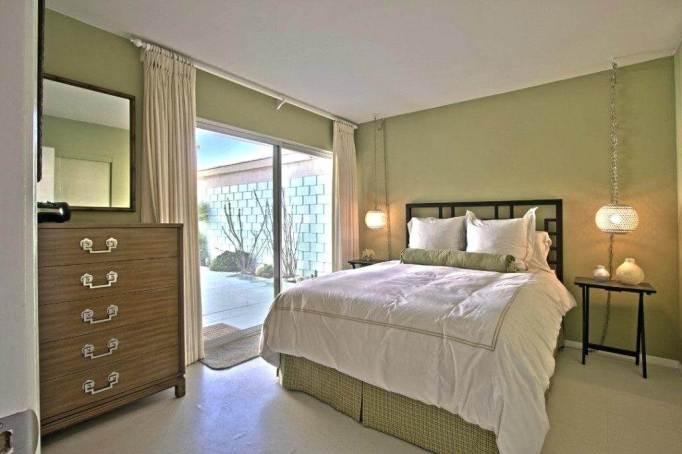 Elegant Mid Century Modern Bedroom