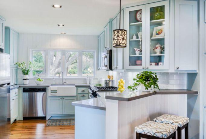 Baby Blue Kitchen Cabinets