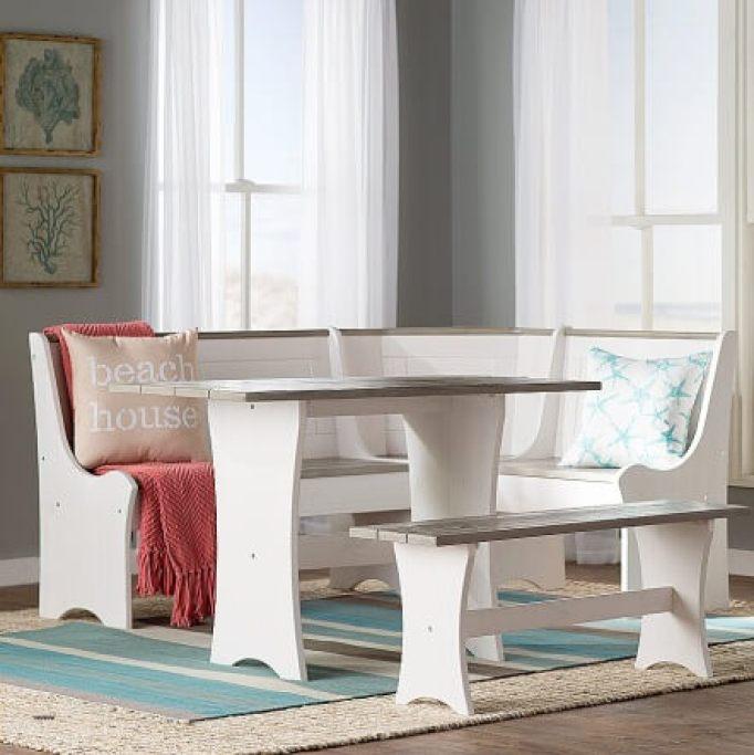 small corner kitchen table