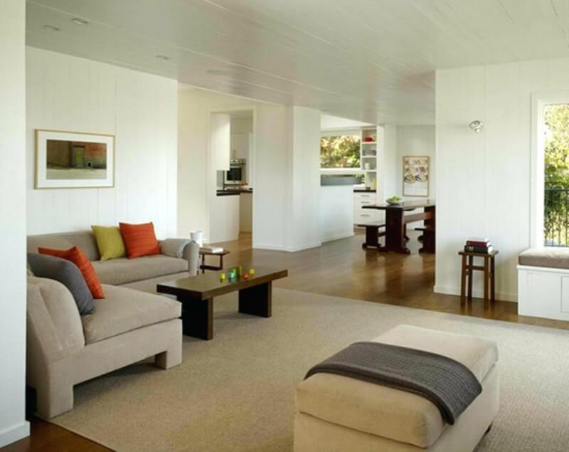 Minimalist Living Room Design Inspired By Feng Shui