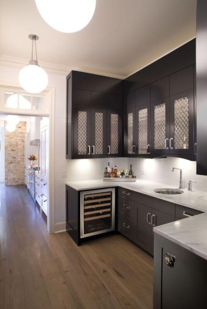cheap black kitchen cabinets