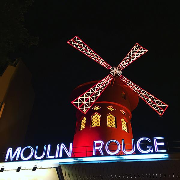 Le Moulin Rouge Paris