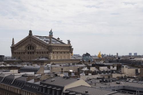 Point de vue sur Paris