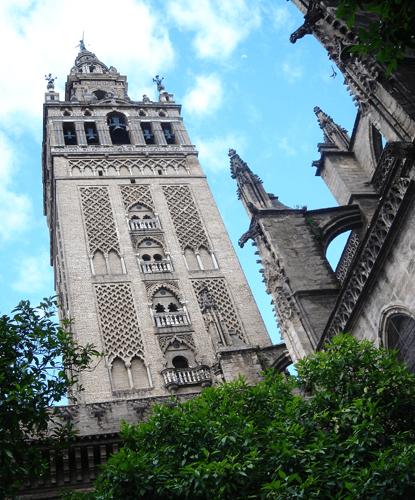 La Cathédrale de Séville de l'intérieur