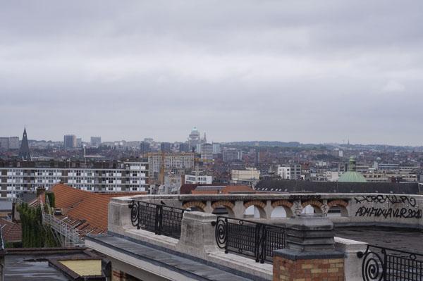 Bruxelles vue du Palais de Justice (moi j'y vois Montmartre)