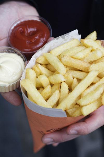 Les frites en Belgique, une institution !