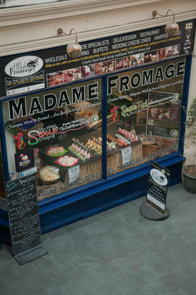 Madame Fromage à Cardiff