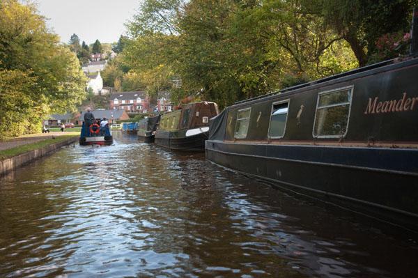 Balade sur le canal après l'Aqueduc