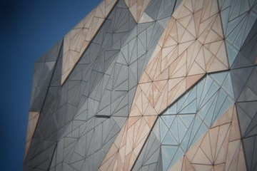 Melbourne architecture sur Federation Square