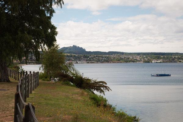 Lac de Taupo nouvelle zélande