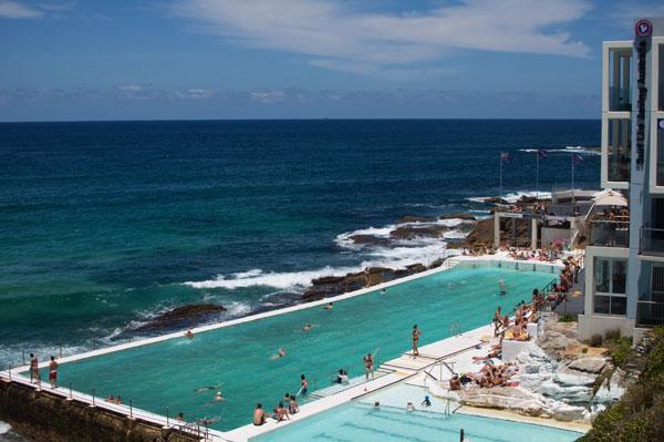 Bondi Beach Sydney piscine eau de mer