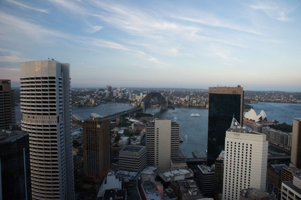 Point de vue sur Sydney 360° depuis Orbit Bar