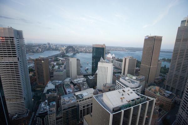 Point de vue sur Sydney depuis le Summit Restaurant