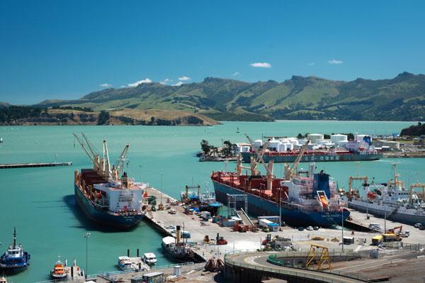 Port de Lyttelton Nouvelle-Zélande