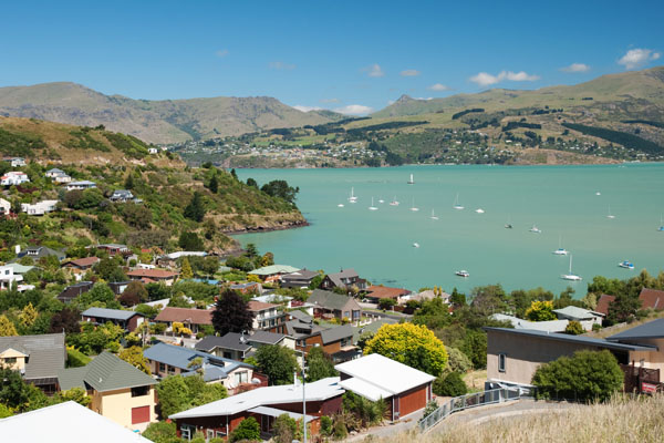 Point de vue sur Lyttelton