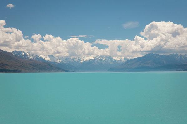 Pukaki Lake Nouvelle-Zélande