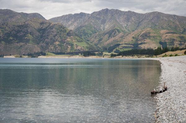 Lake Hawea Nouvelle-zélande