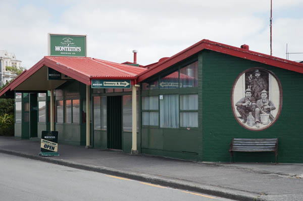 Monteith's Brewery à Greymouth