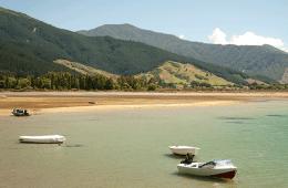 Waikawa proche de Picton en Nouvelle-Zélande