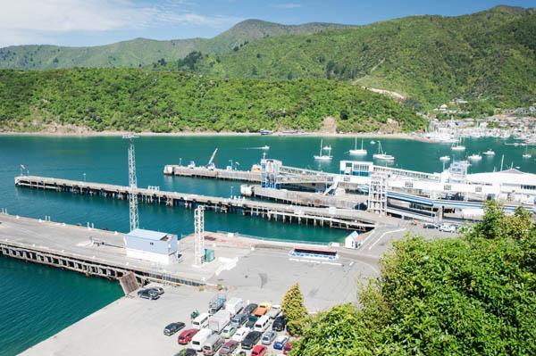 Embarcadère du ferry à Picton